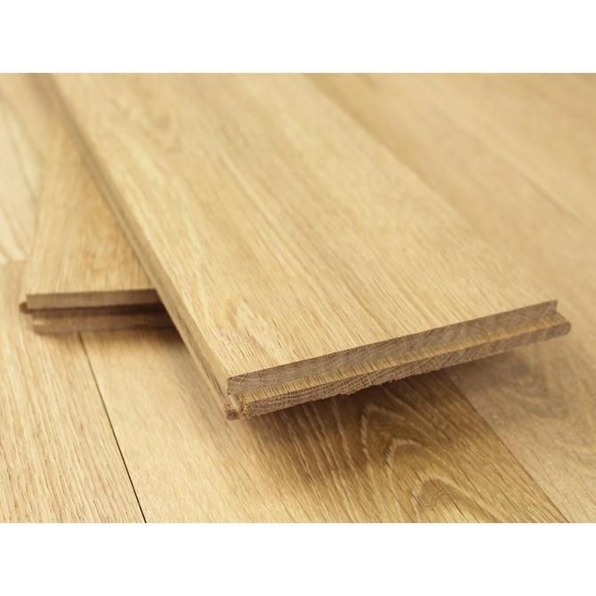 Solid English Oak Flooring (unfinished) 190mm