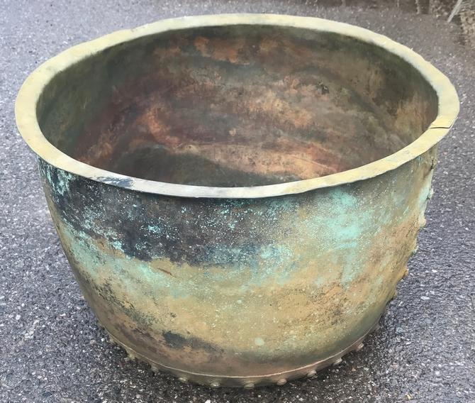 Victorian Genuine Copper Pot/Planter SOLD
