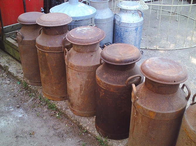Milk Churns SOLD