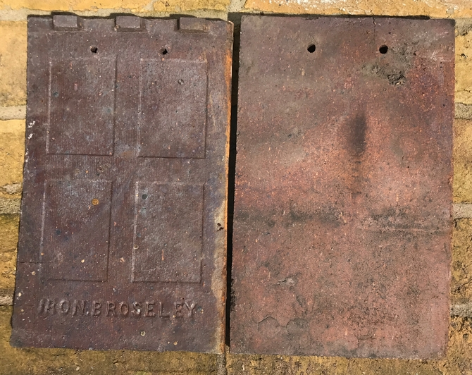 Reclaimed Iron Broseley Roof Tiles