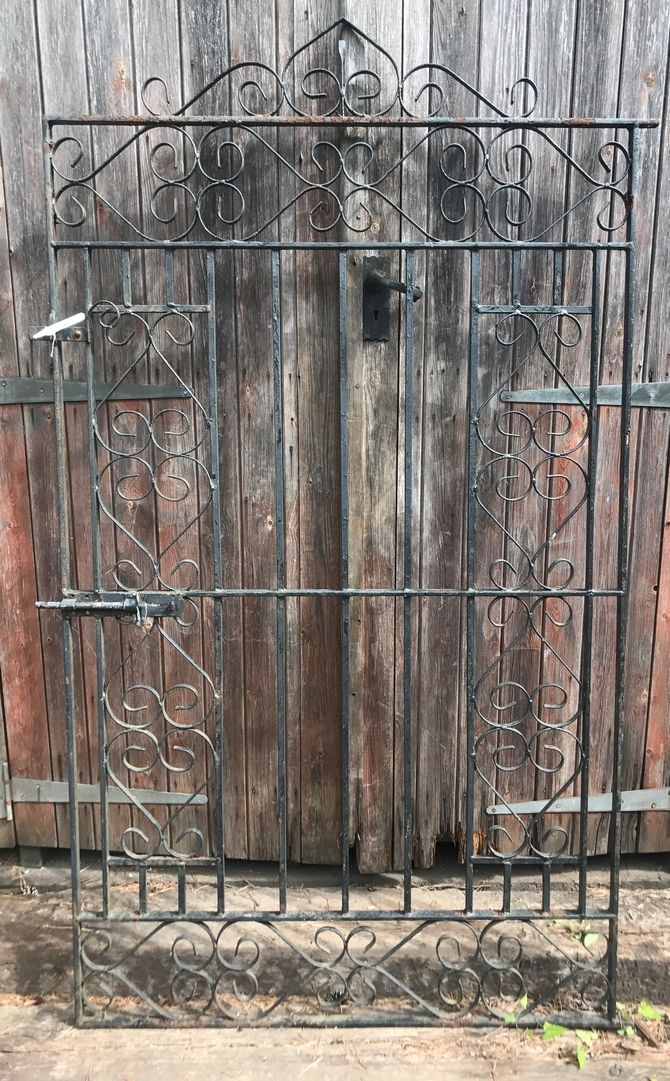 Decorative Reclaimed Wrought Iron Gate H: 190 x W: 106cm