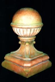 Victorian Ball Finial