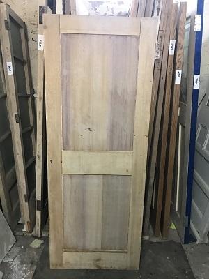 Reclaimed Stripped 2 panel Door