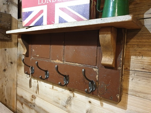 Bespoke Coat Hanger with Mantle