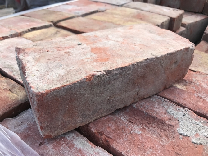 Reclaimed Bricks 220 x 110 x 65mm