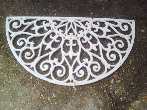 Cast Iron Door Mat AR513