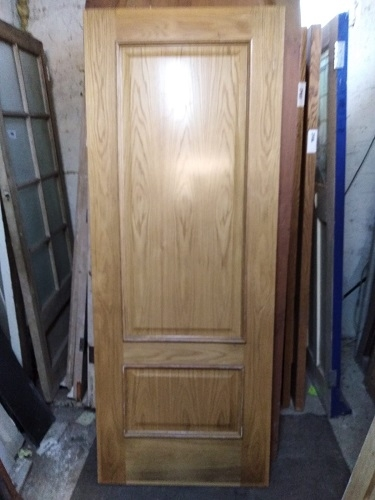 Reclaimed 2 Panel Laminated Fire Door