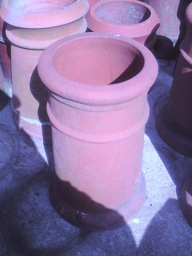 Roll Top Chimney Pot