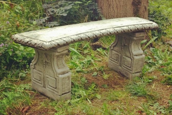Florentine Stone Bench