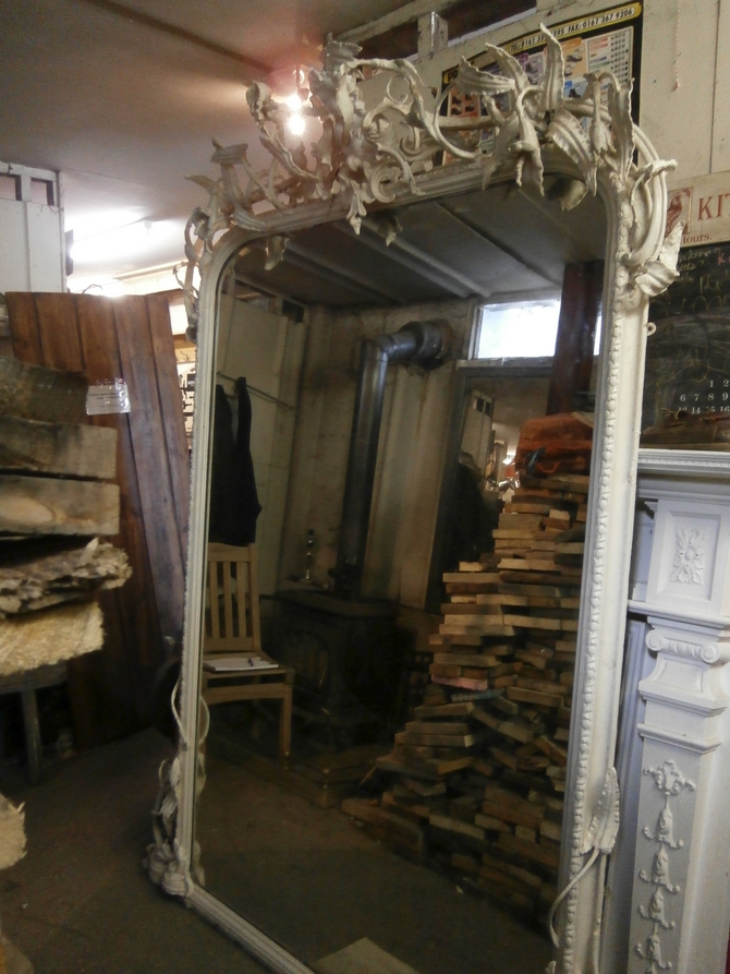LARGE OVERMANTLE MIRROR AR34