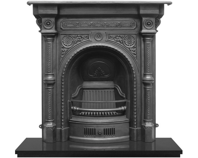Tweed Cast Iron Combination Fireplace