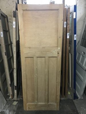 Reclaimed Stripped 1 over 3 Door