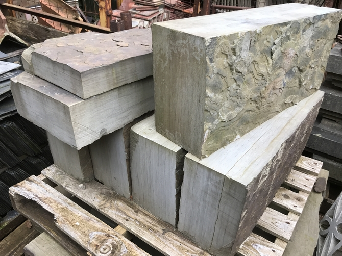 Reclaimed York Stone Blocks
