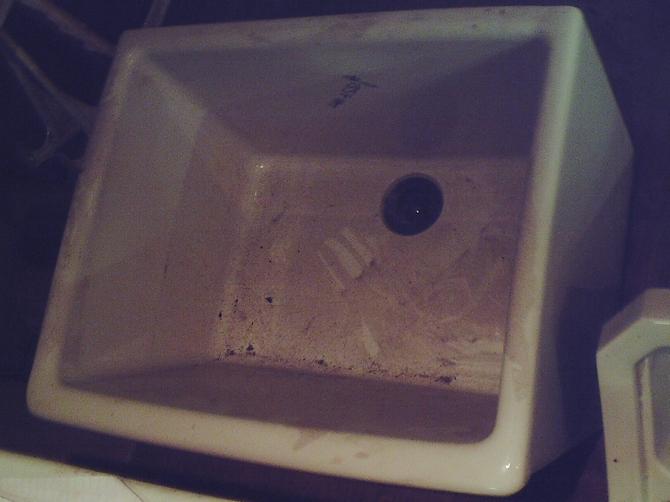 Reclaimed Deep Butler Sink