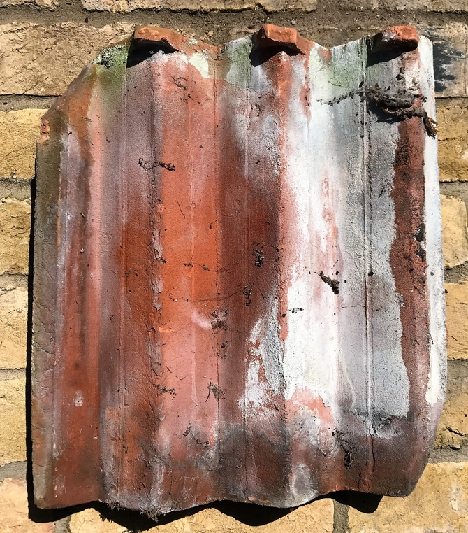 Reclaimed Triple Angle Roof Tiles