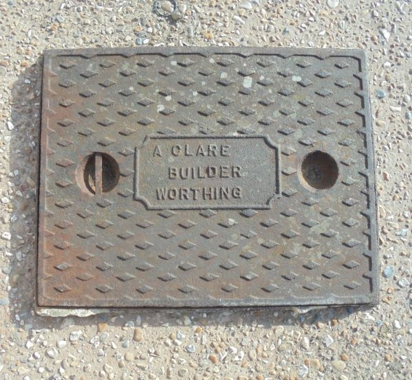 Original Cast Iron Manhole Covers