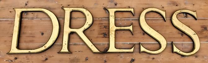 Hardwood Letters