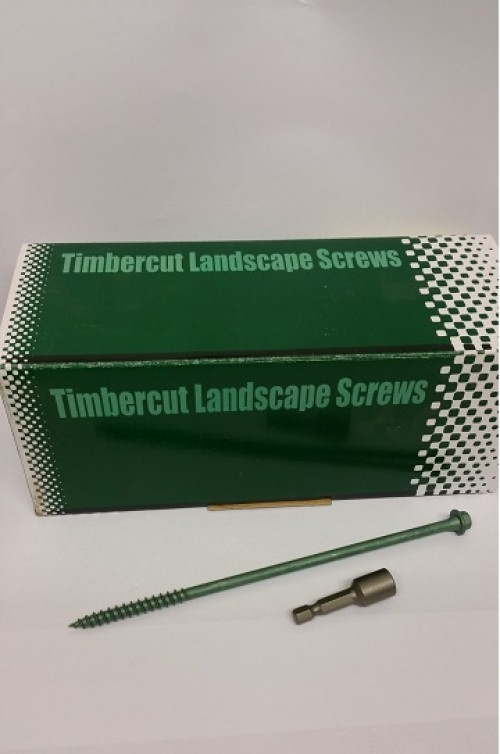 Timbercut Landscape Hex Screws M7 x 250mm