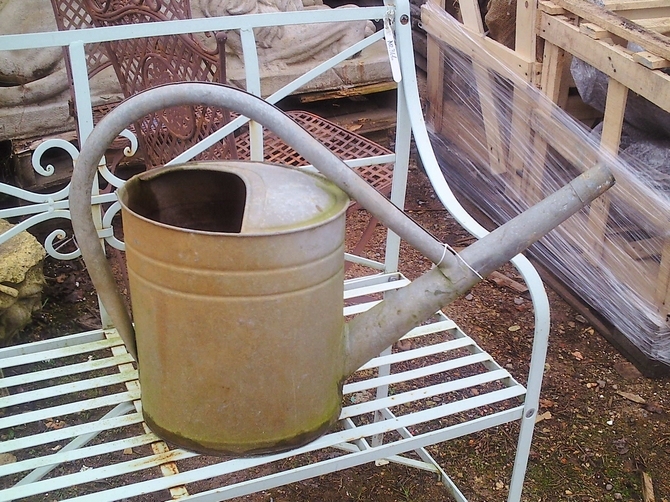 how to make a metal watering can