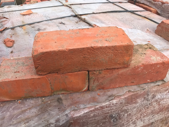 Reclaimed Bricks 235 x 110 x 70mm