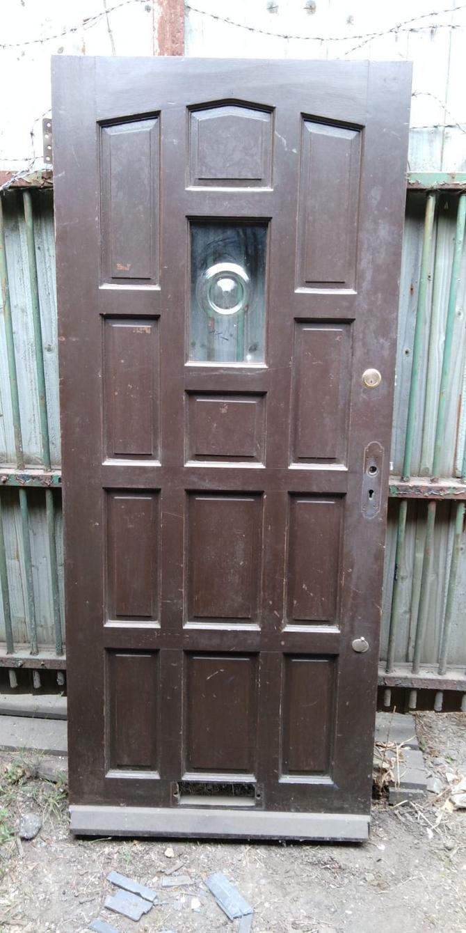 Reclaimed Single Glazed Front Door