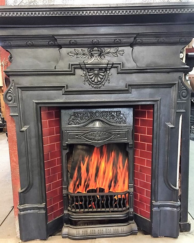 Original Combination Fireplace (SOLD)