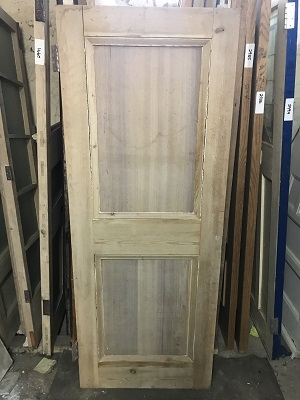 Reclaimed Stripped 2 panel Door