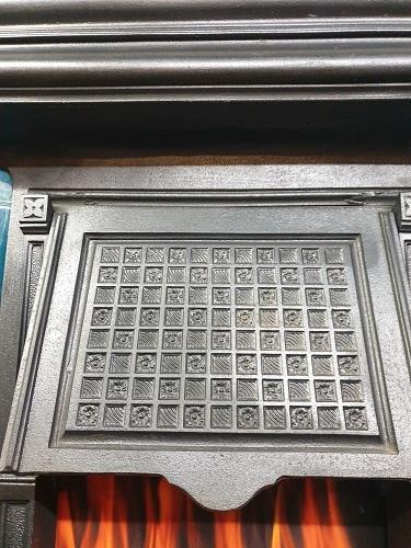 Original Tiled Cast Iron Fireplace
