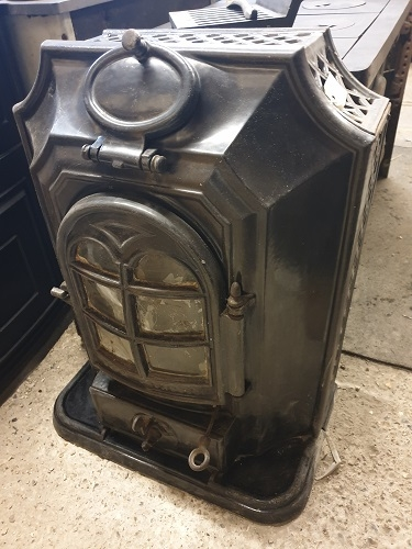 Vintage French Log Burner