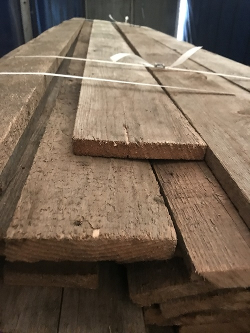 Reclaimed Various Width Timber Cladding