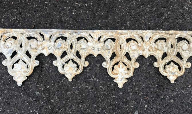 Decorative Victorian Cast Iron Canopy