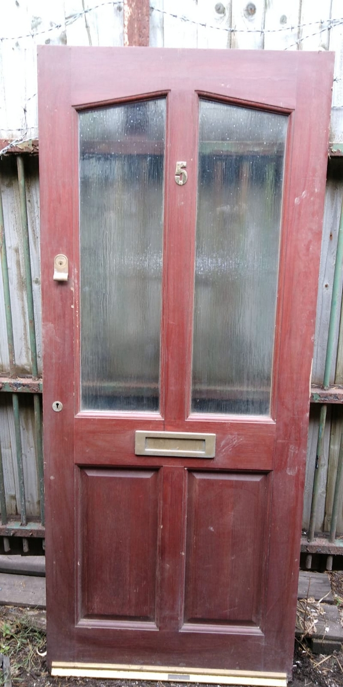 Part Glazed Front Door