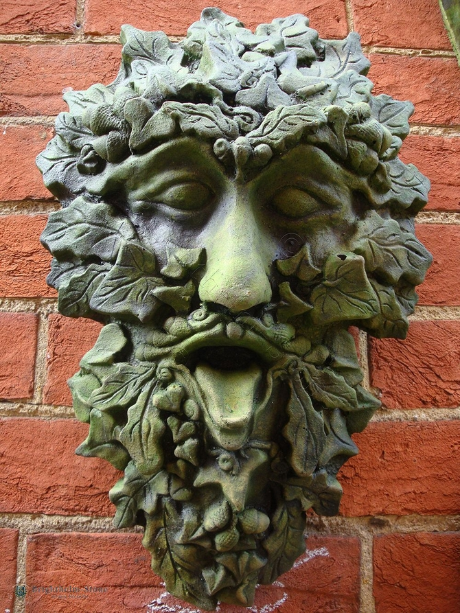 Harvest Keystone Green Man wall Plaque
