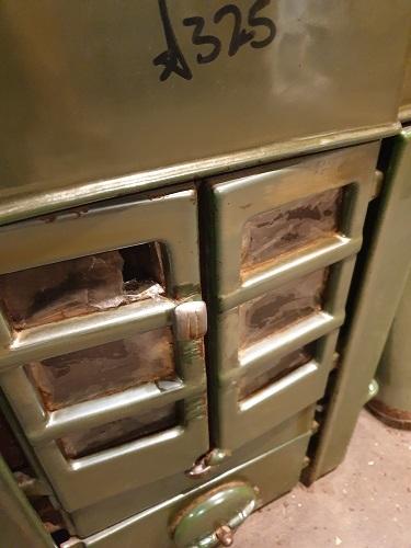 Reclaimed Vintage French Log Burner