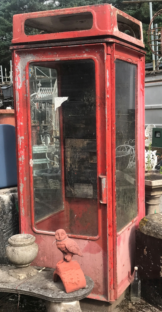 Salvaged K8 Telephone Box