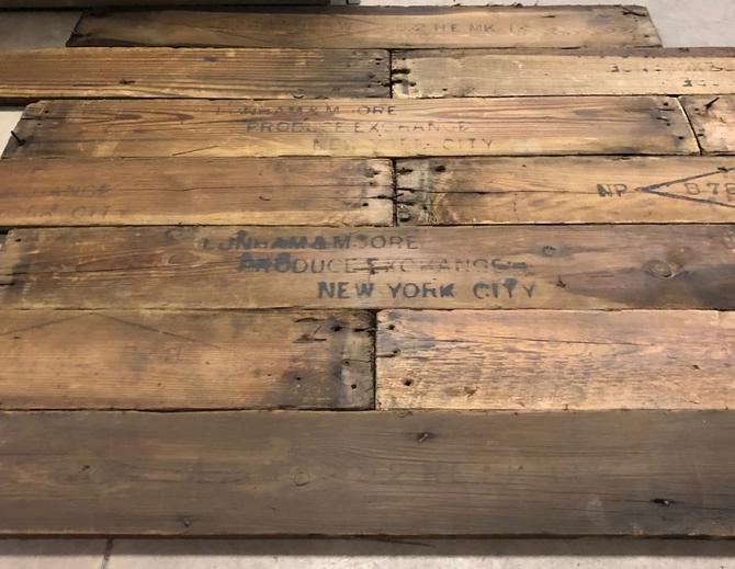 Vintage American Pine Cladding/Flooring