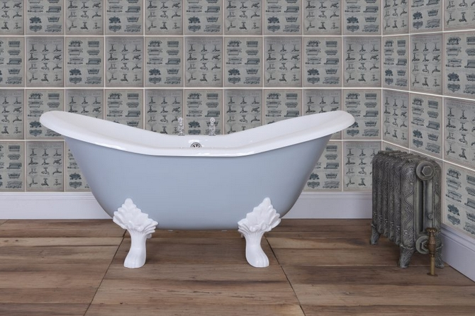 Banburgh Small Cast Iron Bath