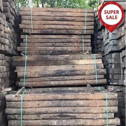 Reclaimed Creosoted Treated Railway 2.6m x 250mm x 150mm (24 Pack) SALE