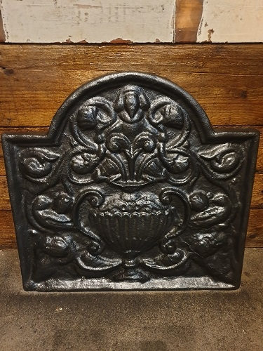 Small Ornate Fire Back