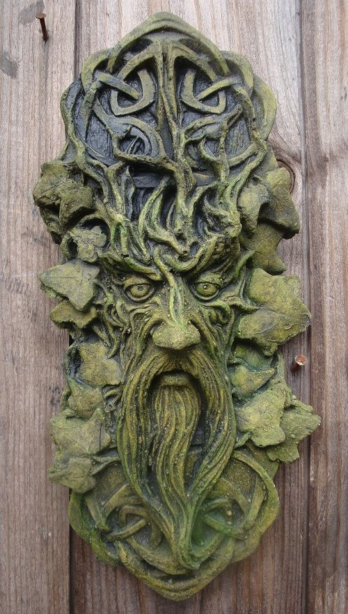 Celtic Green Man Plaque