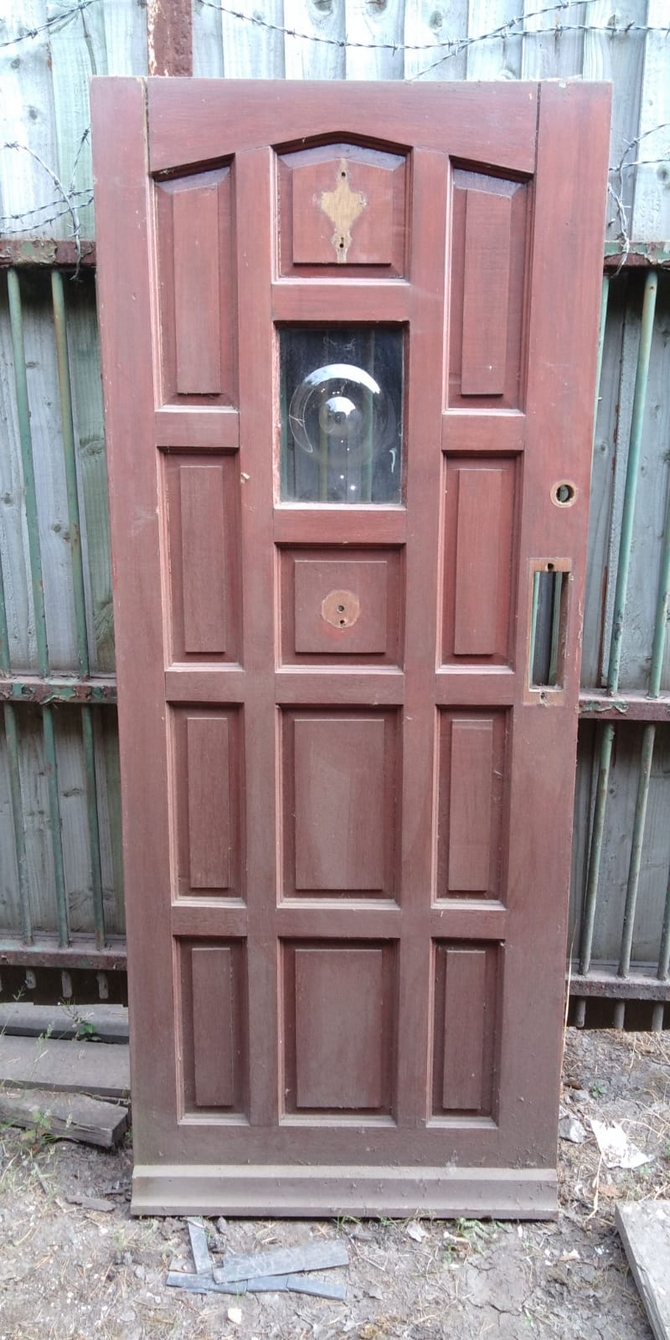 Reclaimed Single Glazed Front Door