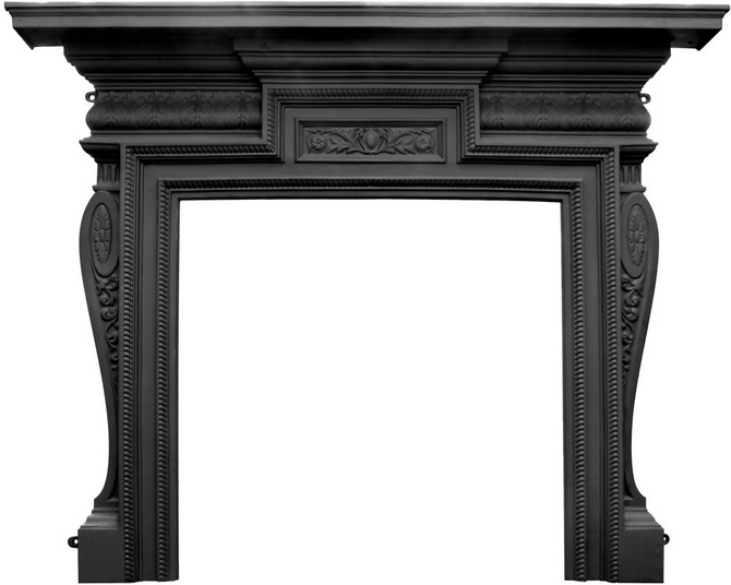 Knightsbridge Cast Iron Fireplace Surround