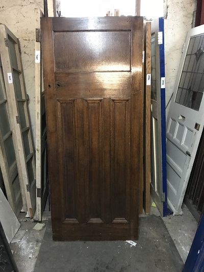 Reclaimed 1 over 3 Solid Oak Door