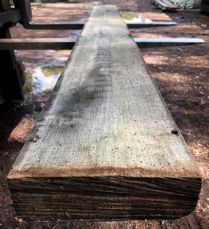 Reclaimed Oak Beam 279 x 25 x 8cm