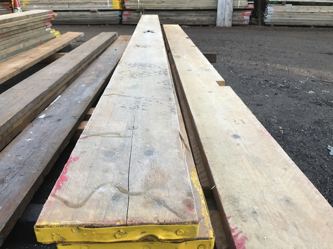 RECLAIMED SCAFFOLD BOARDS 3.0m