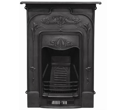 The Jasmine Cast Iron Combination Fireplace AR874