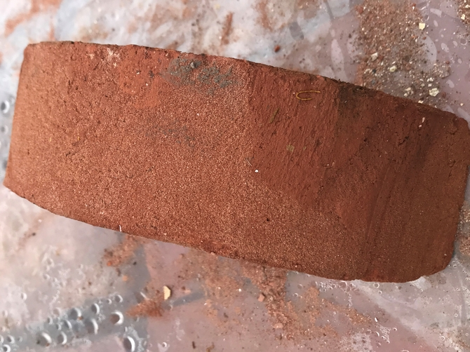 Reclaimed Half Round Bricks 235 x 125 x 70mm