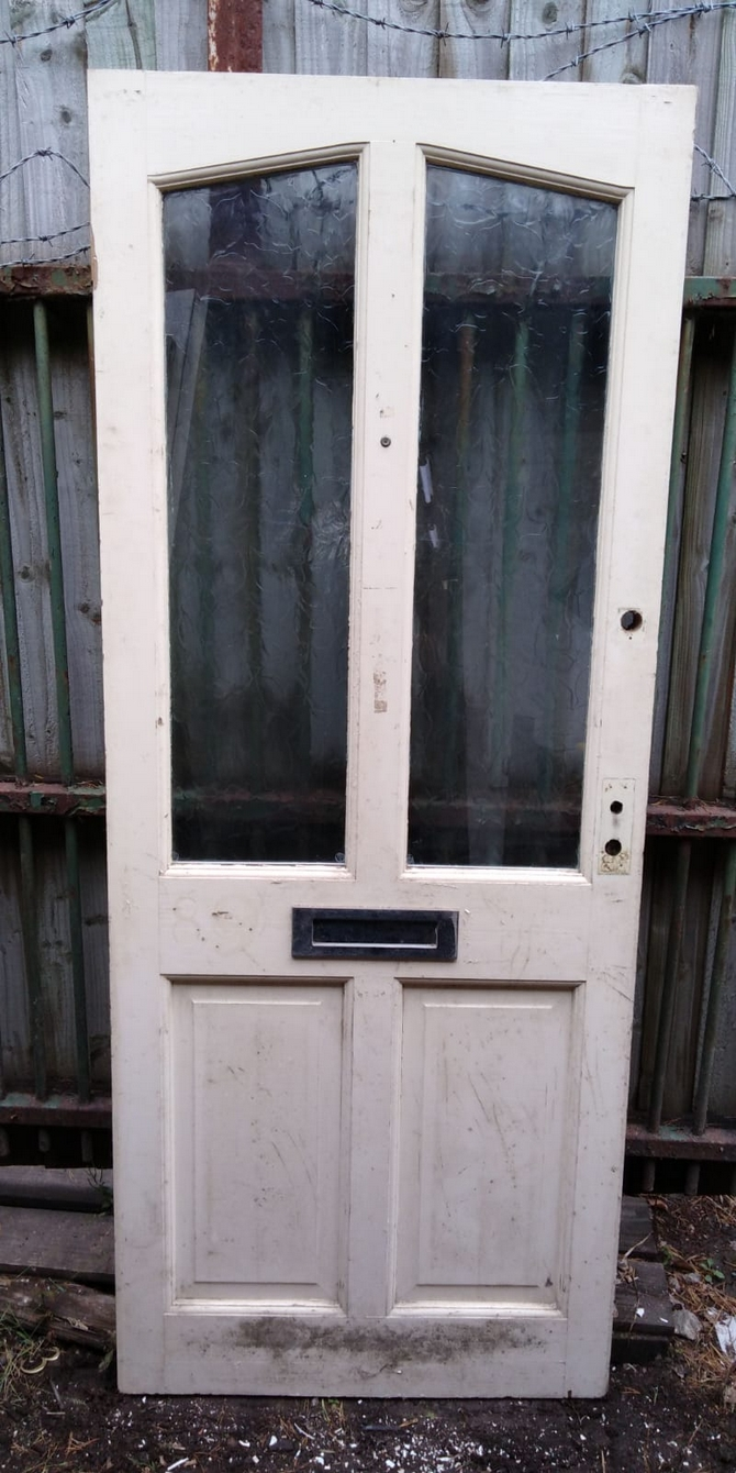 Half Glazed Front Door