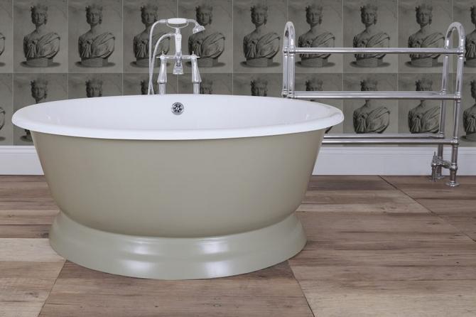 Drum Cast Iron Bath Tub
