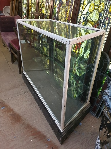 Vintage Glass Haberdashery Display Case